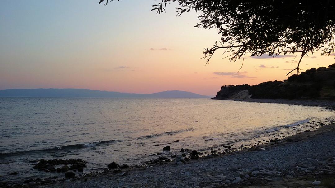 Griechenland: Sonnenuntergang in der Ägäis