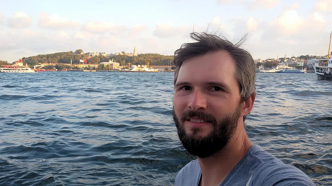 Fahrrad-Weltreise Teil 1 - Chris am Bosporus