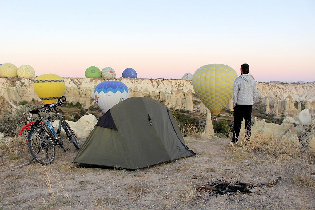 Heißluftballonstarts in Kappadokien