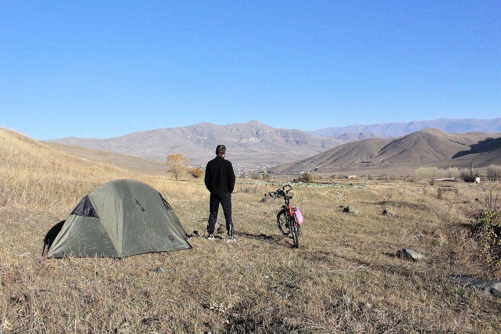 Bergregion im Norden von Armenien