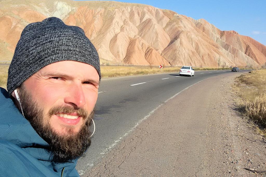 Fahrrad-Weltreise Teil 2 - In der Nähe von Täbris im Iran