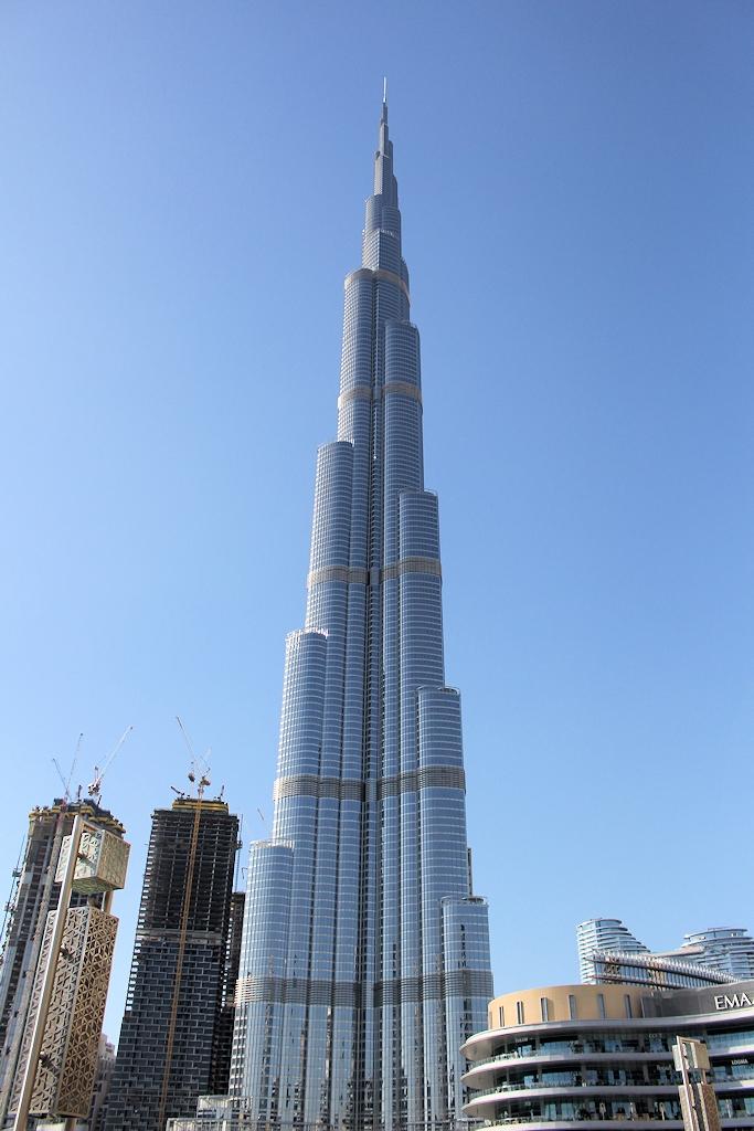 Fahrrad-Weltreise Teil 2 - Der Burj Khalifa in Dubai