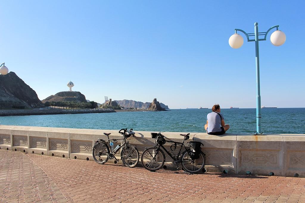 Fahrrad-Weltreise Teil 2 - In Maskat, der Hauptstadt des Oman