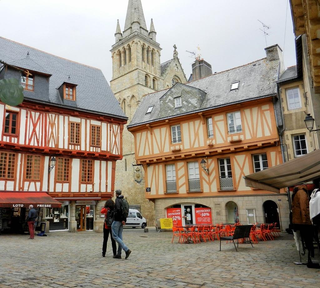 Morbihan: In den Gassen von Vannes