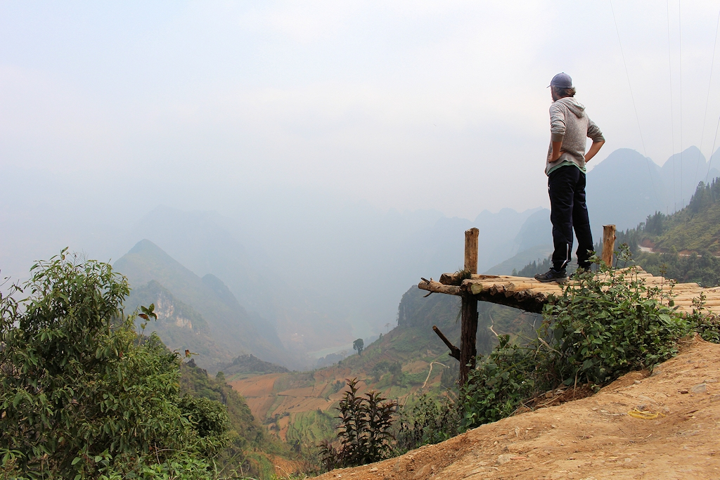 Vietnam - Aussicht auf dem Ha Giang Loop