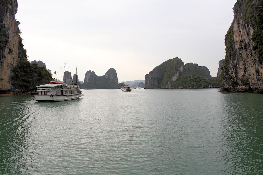 An der Ha Long Bucht