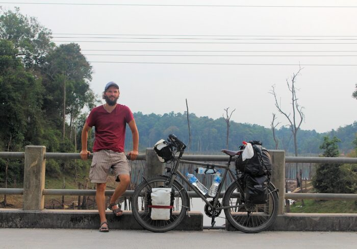 Auf dem Thakhek Loop